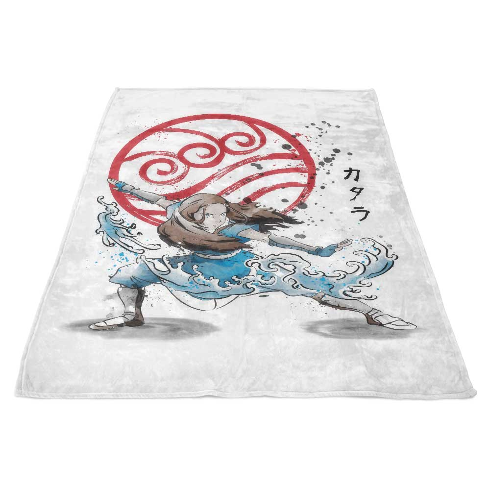 The Power of the Water Tribe - Fleece Blanket