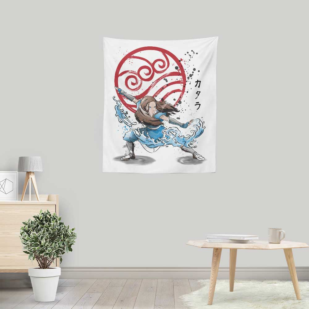 The Power of the Water Tribe - Wall Tapestry