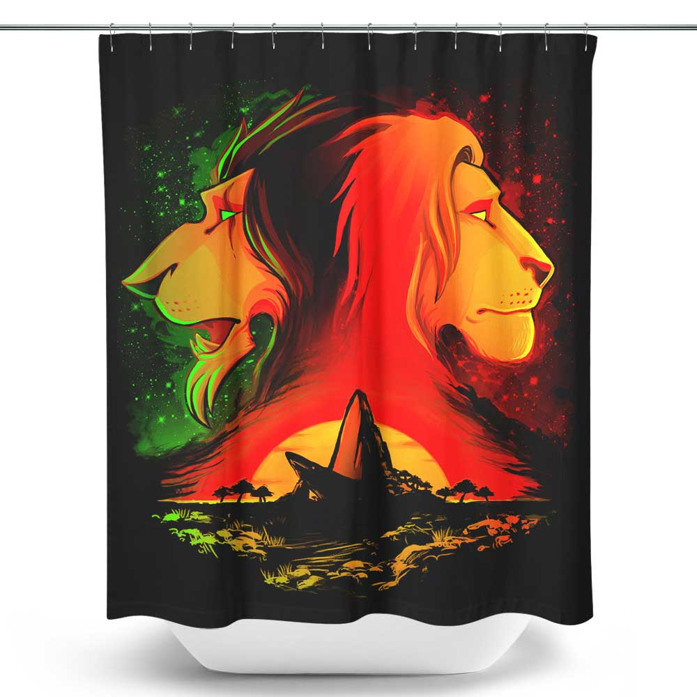 The Pride Rock - Shower Curtain