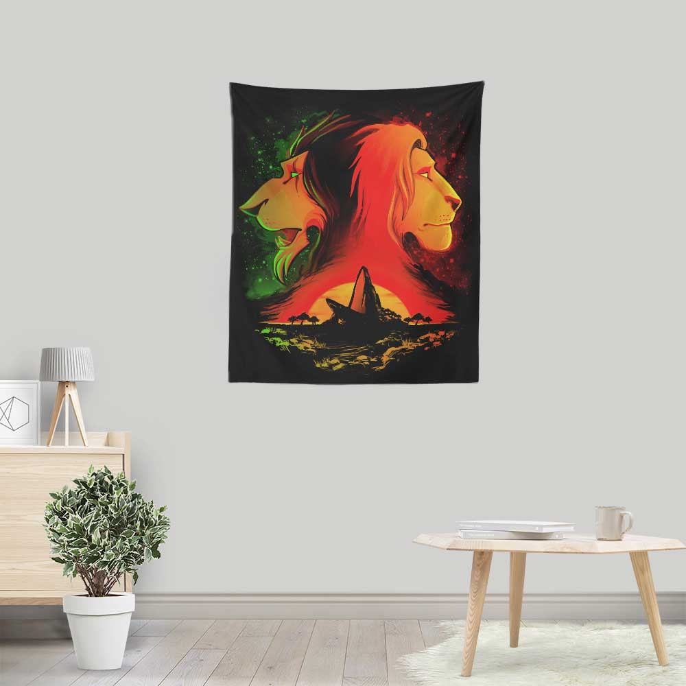 The Pride Rock - Wall Tapestry