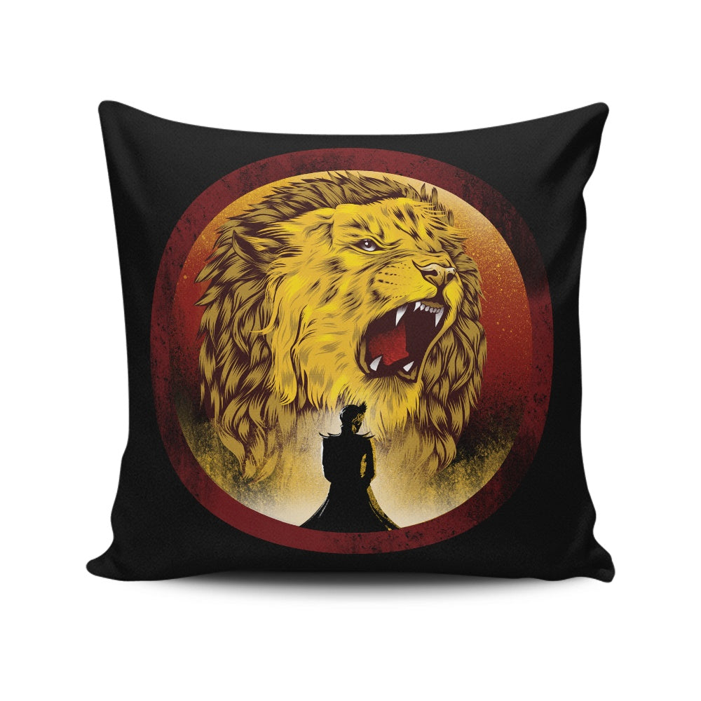 The Queen Regent - Throw Pillow