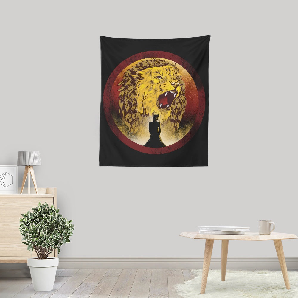 The Queen Regent - Wall Tapestry