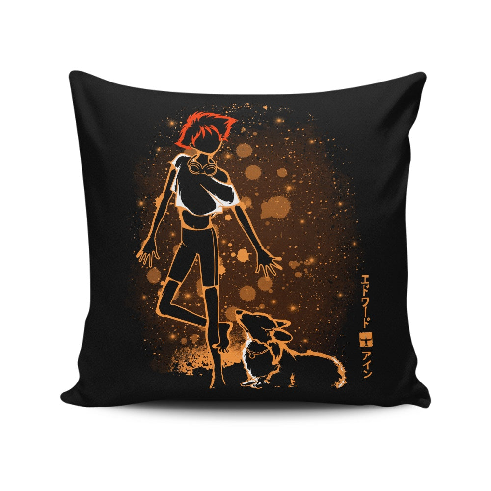 The Radical and the Dog - Throw Pillow