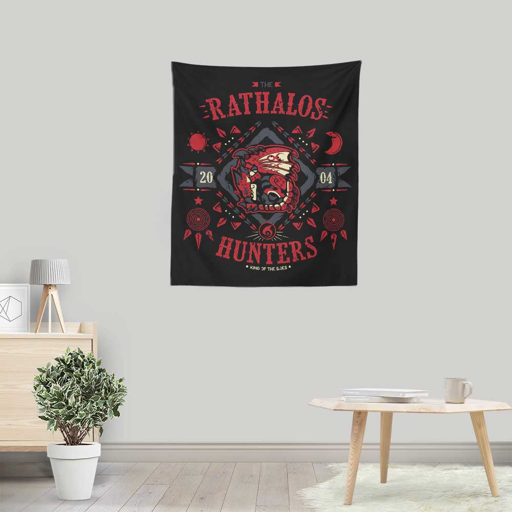 The Rathalos Hunters - Wall Tapestry