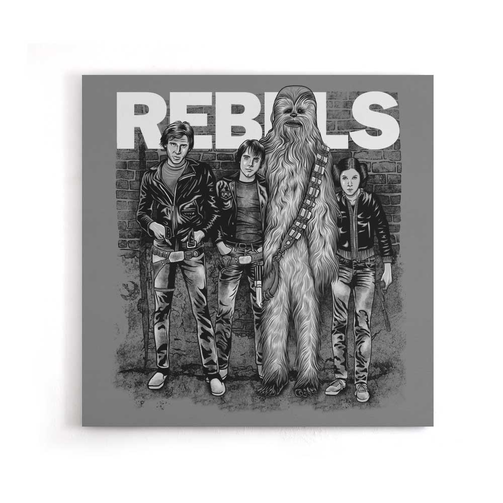 The Rebels - Canvas Print
