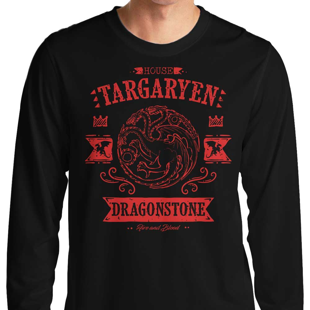 The Red Dragon - Long Sleeve T-Shirt