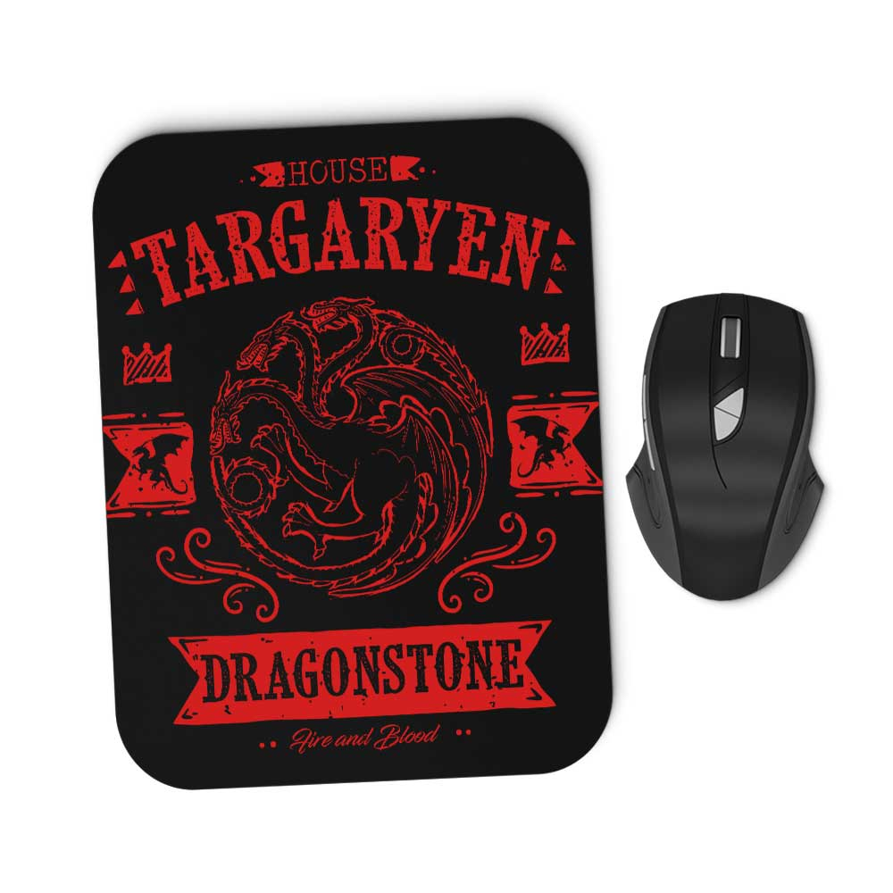 The Red Dragon - Mousepad