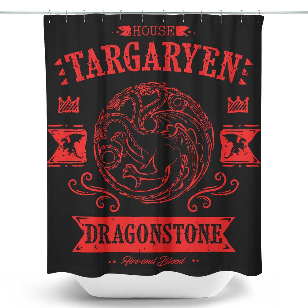 The Red Dragon - Shower Curtain