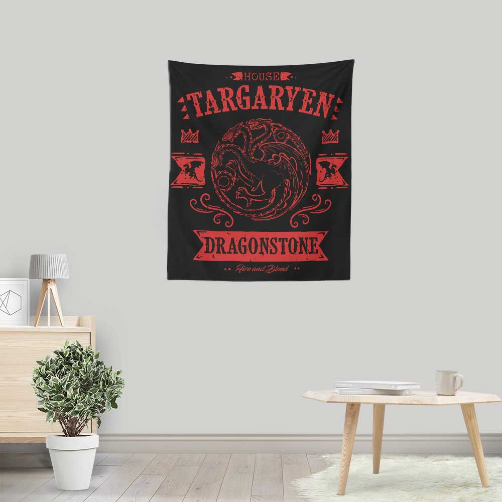 The Red Dragon - Wall Tapestry
