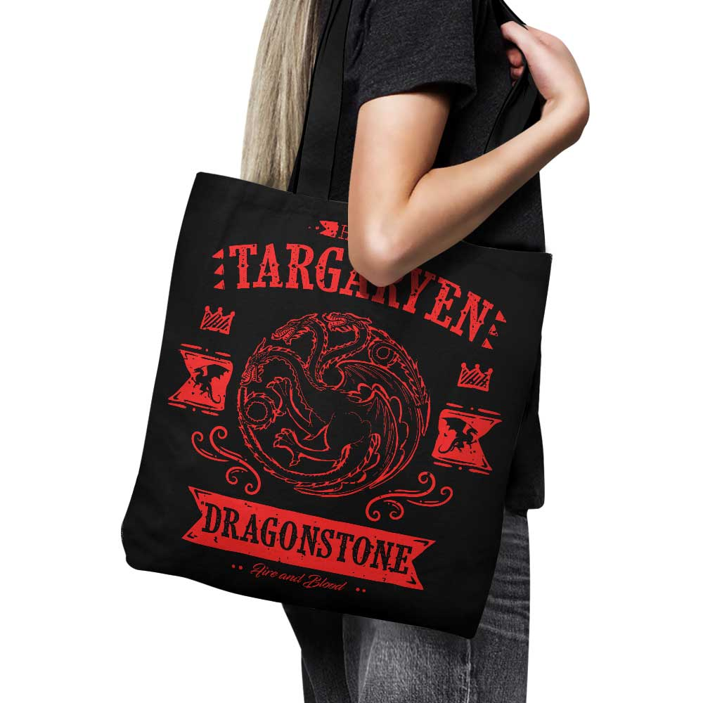 The Red Dragon - Tote Bag