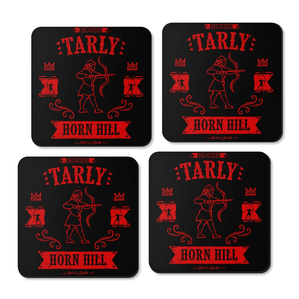 The Red Huntsman - Coasters