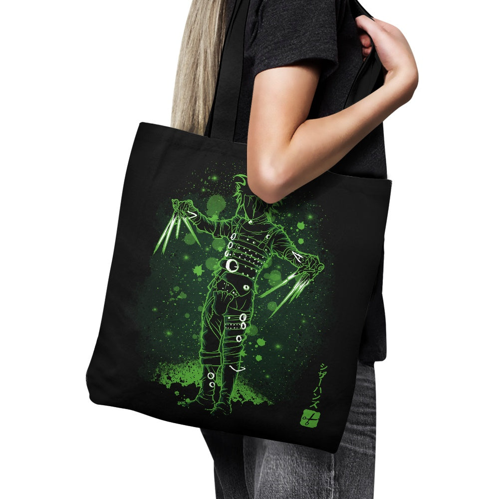 The Scissorhands (Alt) - Tote Bag