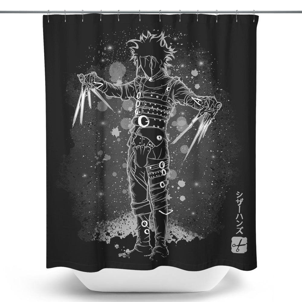 The Scissorhands - Shower Curtain