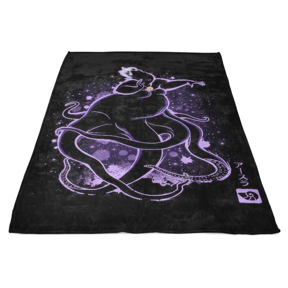 The Sea Witch - Fleece Blanket