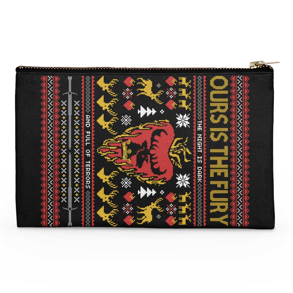The Silent Night (is Dark and Full of Terrors) - Accessory Pouch