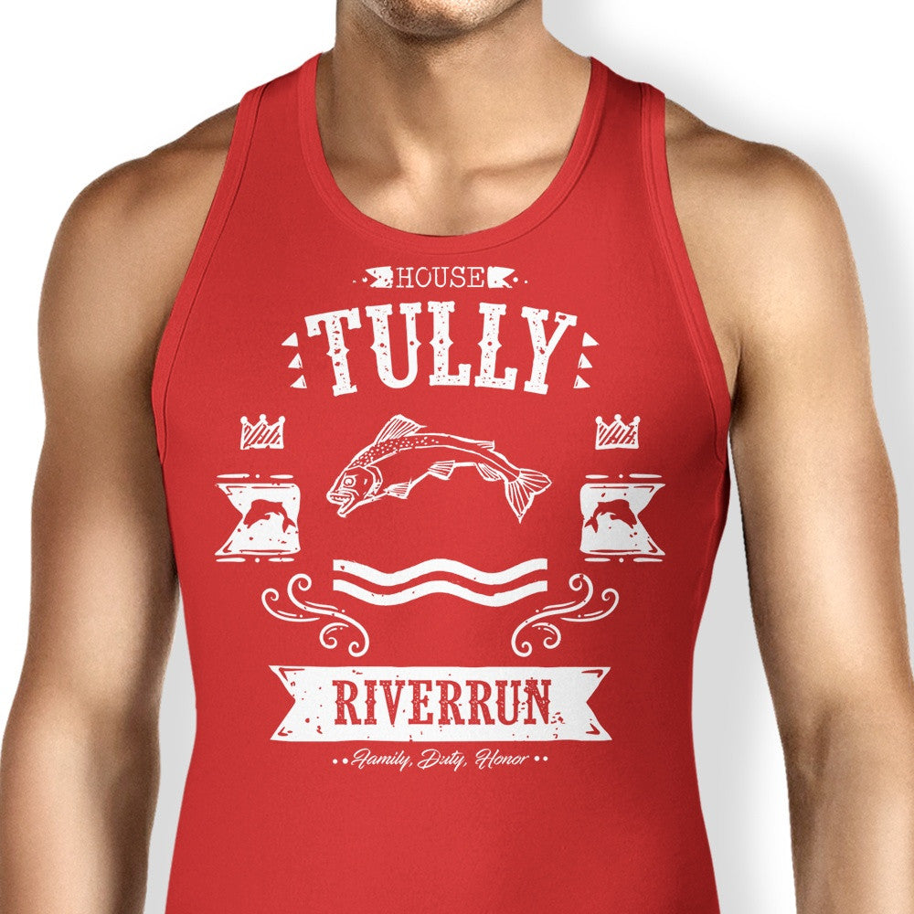 The Silver Trout - Tank Top