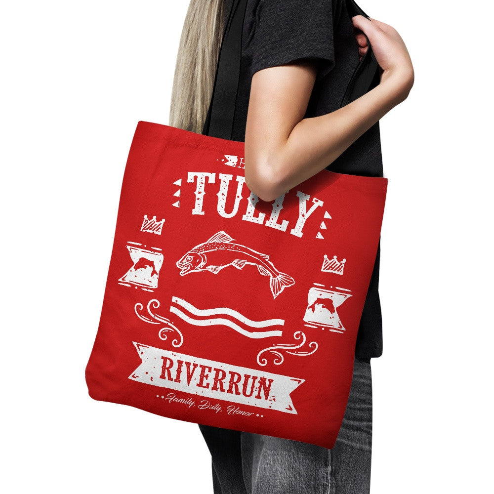 The Silver Trout - Tote Bag