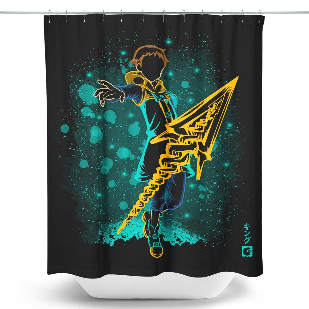 The Sin of Sloth - Shower Curtain