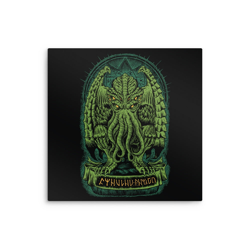The Sleeper of R'lyeh - Metal Print