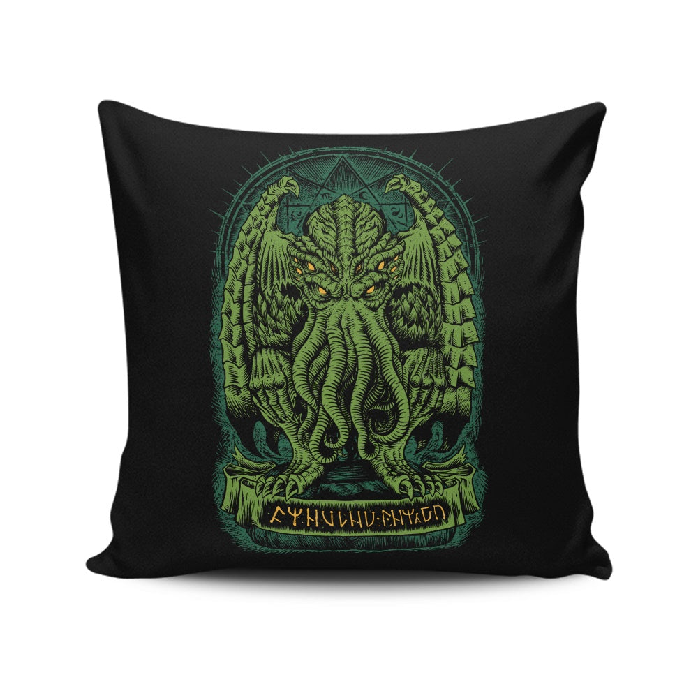 The Sleeper of R'lyeh - Throw Pillow