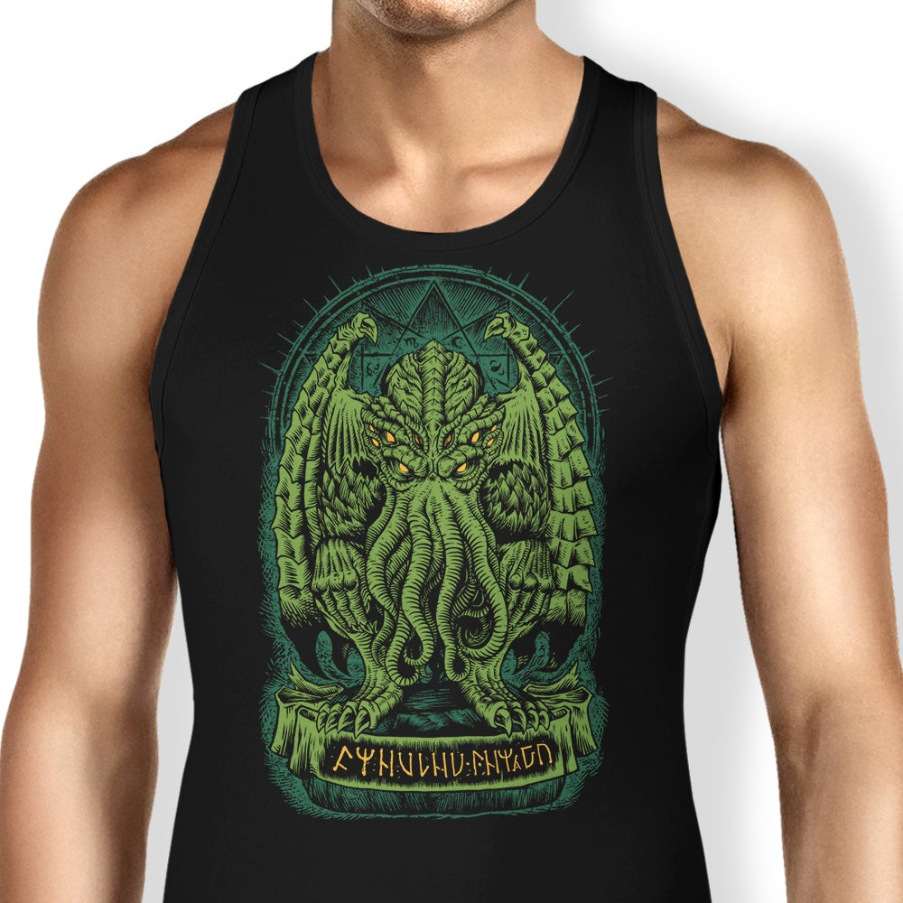 77d54b76 The Sleeper of R'lyeh - Tank Tops | Once Upon a Tee