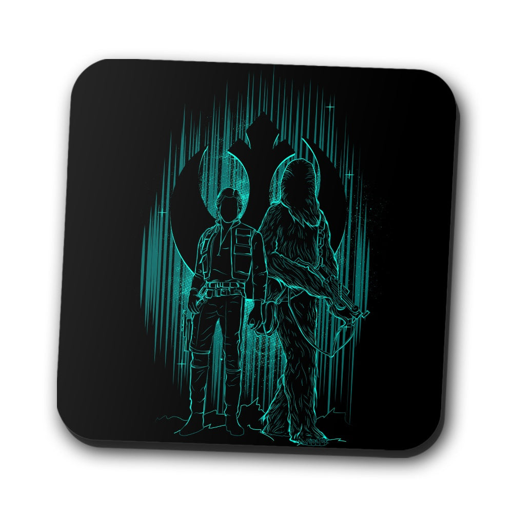 The Smuggler's Shadow - Coasters