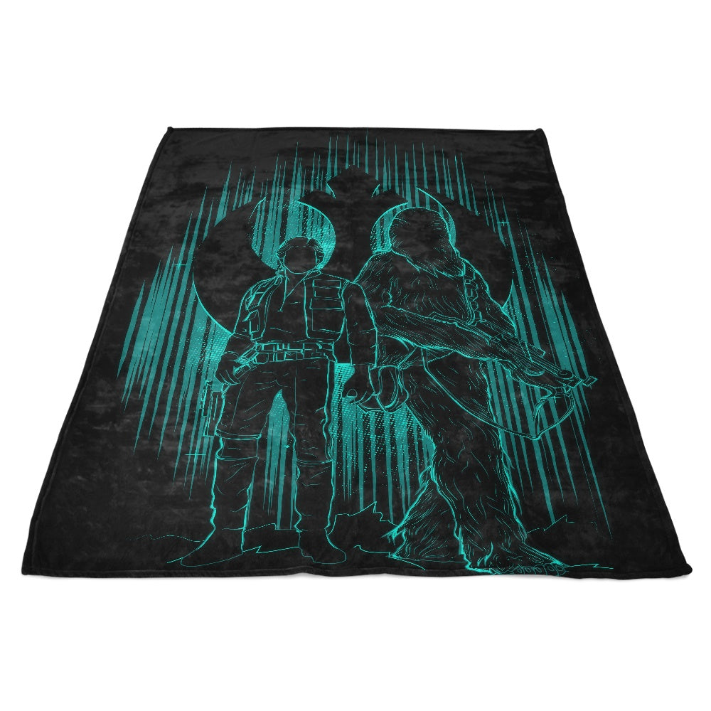 The Smuggler's Shadow - Fleece Blanket