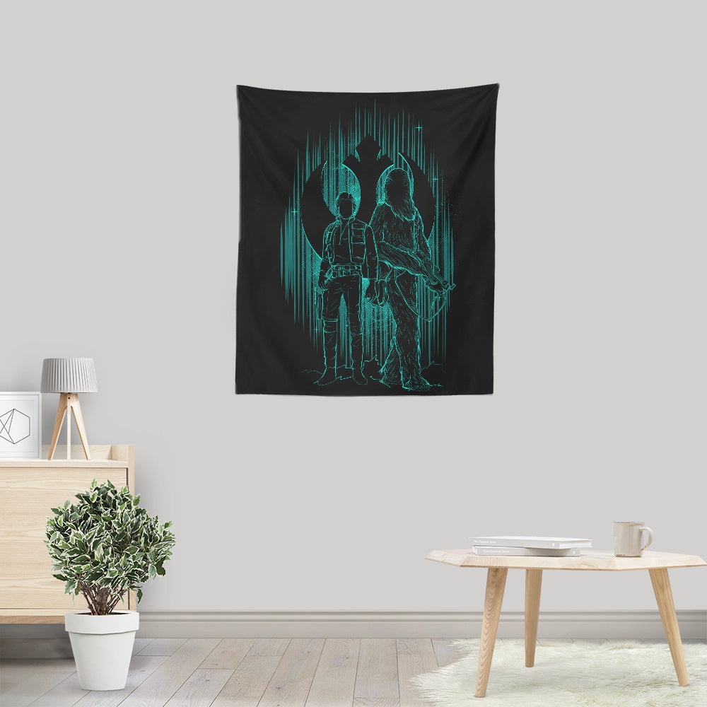 The Smuggler's Shadow - Wall Tapestry