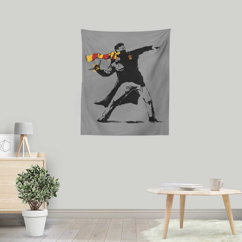 The Snatcher - Wall Tapestry