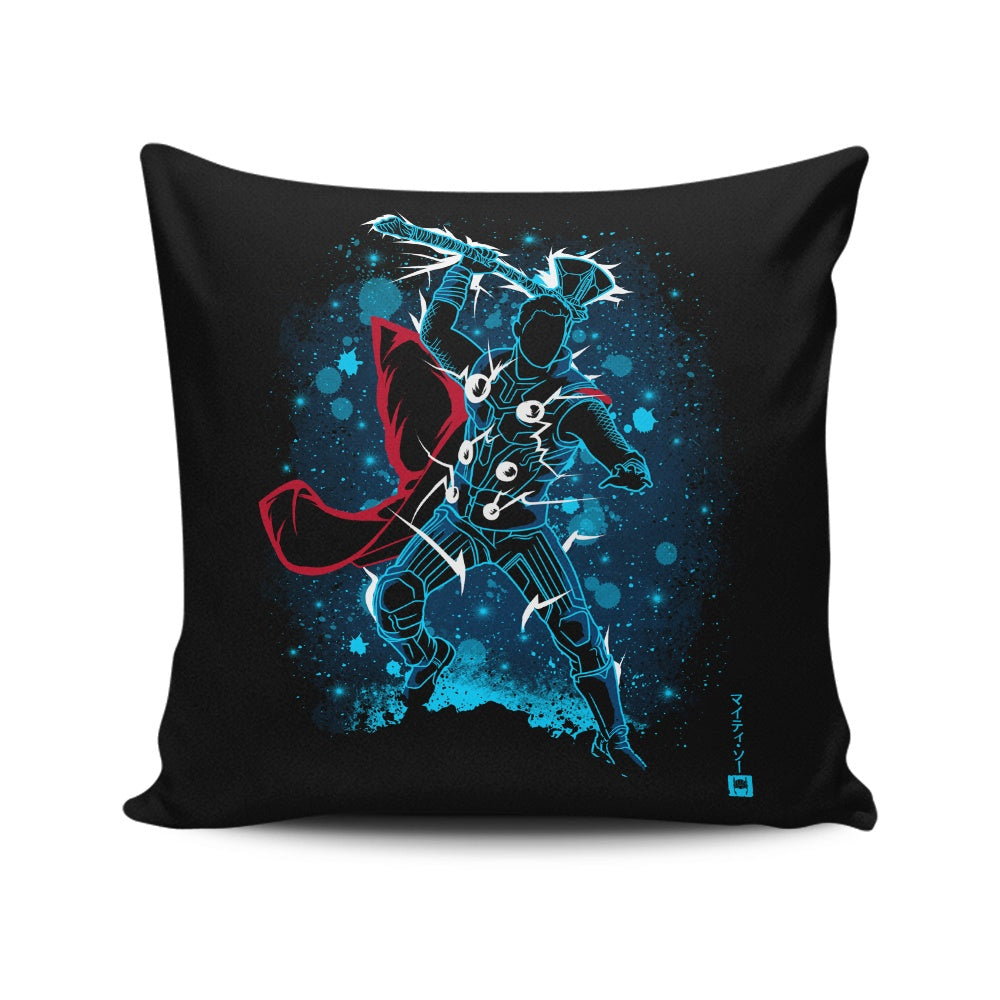 The Stormbreaker - Throw Pillow