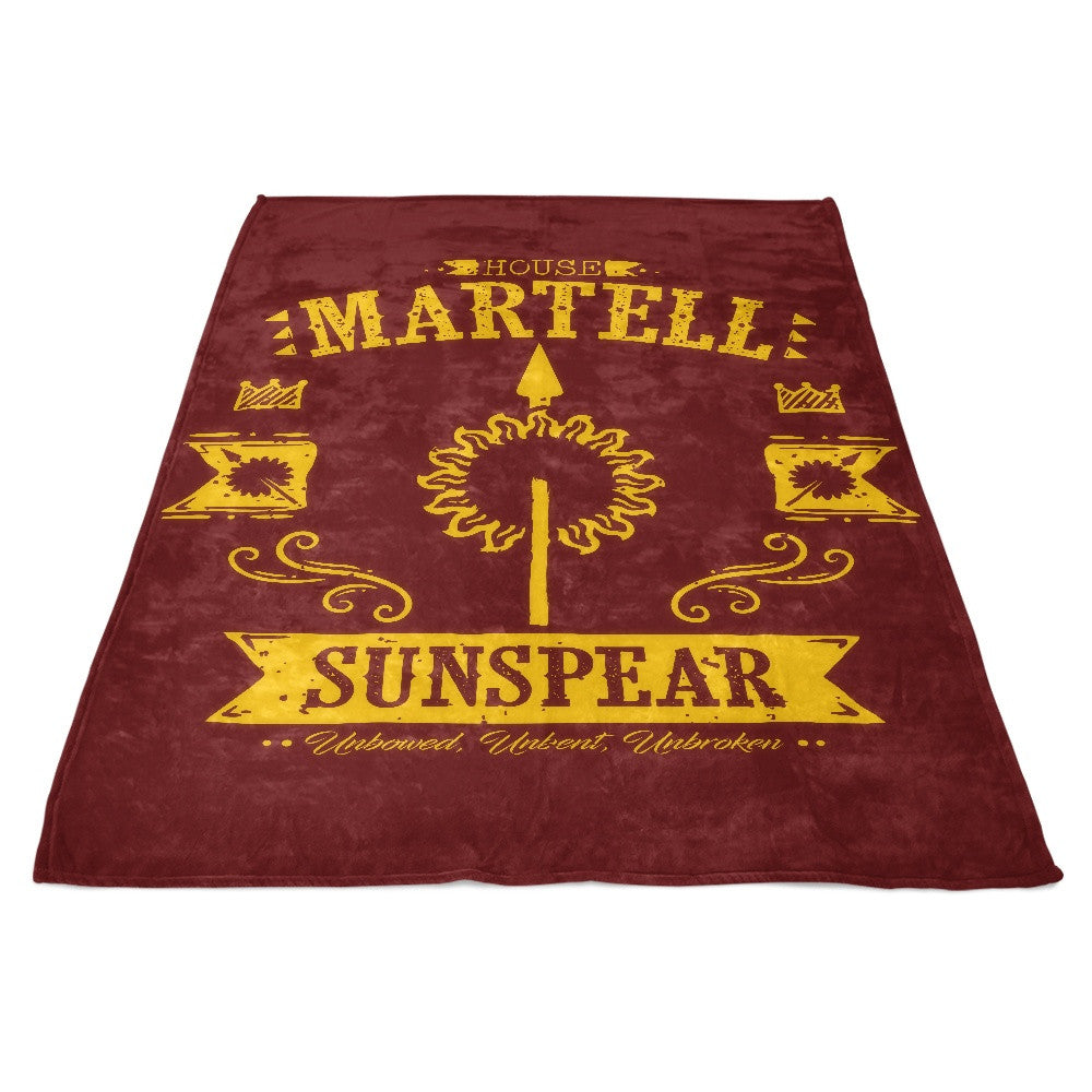 The Sunspear - Fleece Blanket
