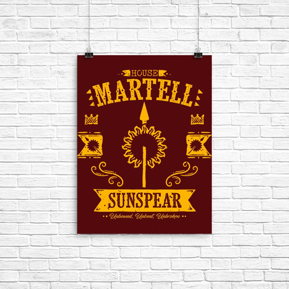 The Sunspear - Poster