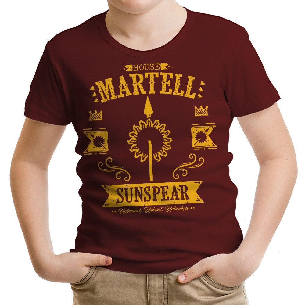 The Sunspear - Youth Apparel