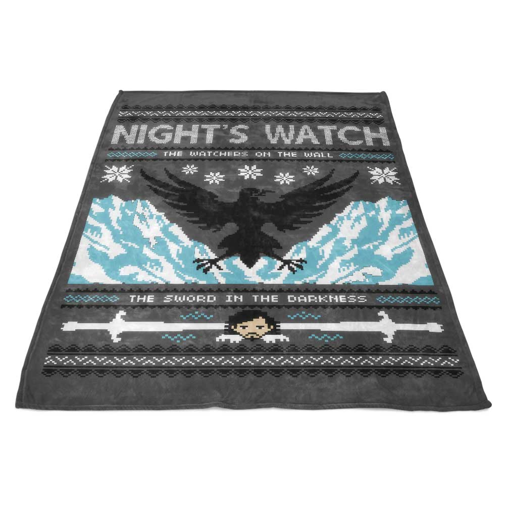 The Sweater in the Darkness - Fleece Blanket