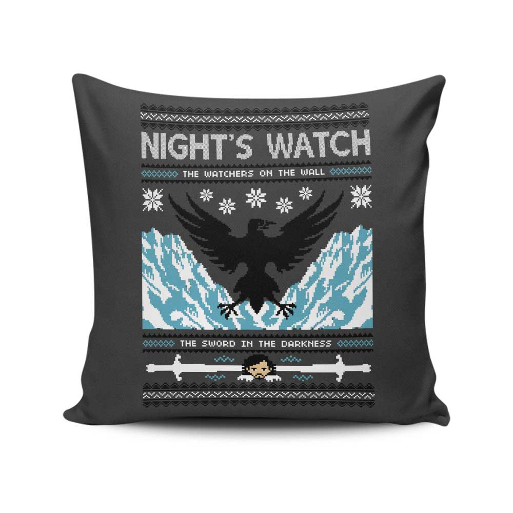 The Sweater in the Darkness - Throw Pillow