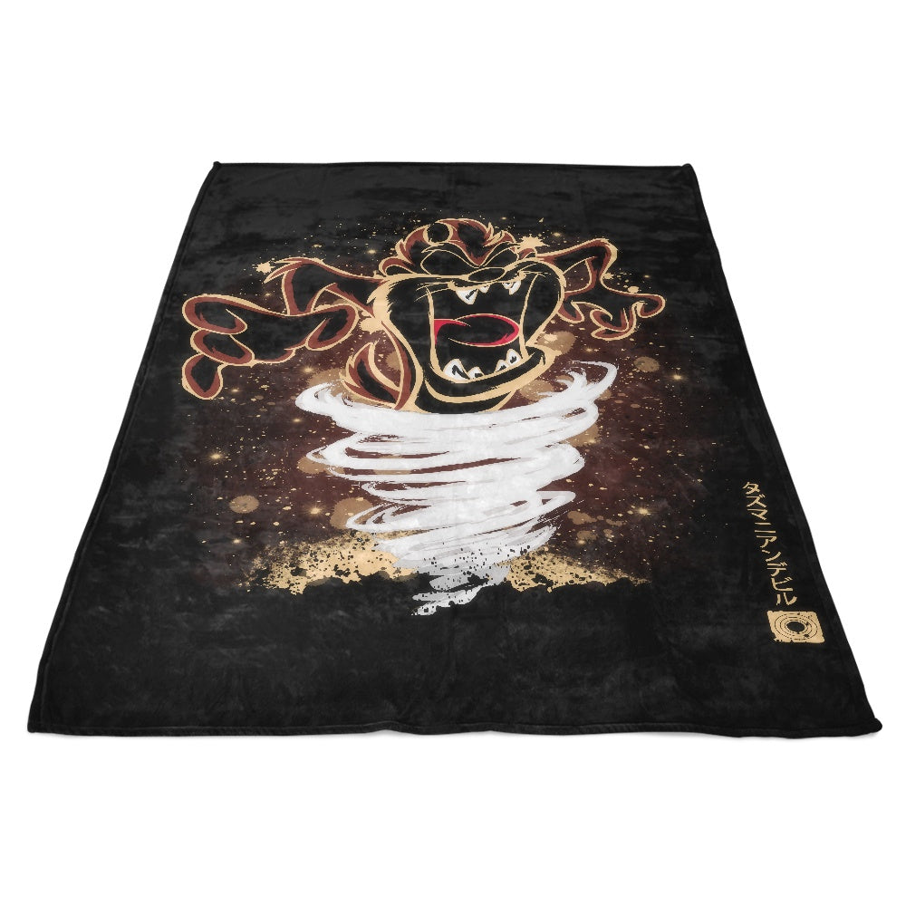 The Taz - Fleece Blanket