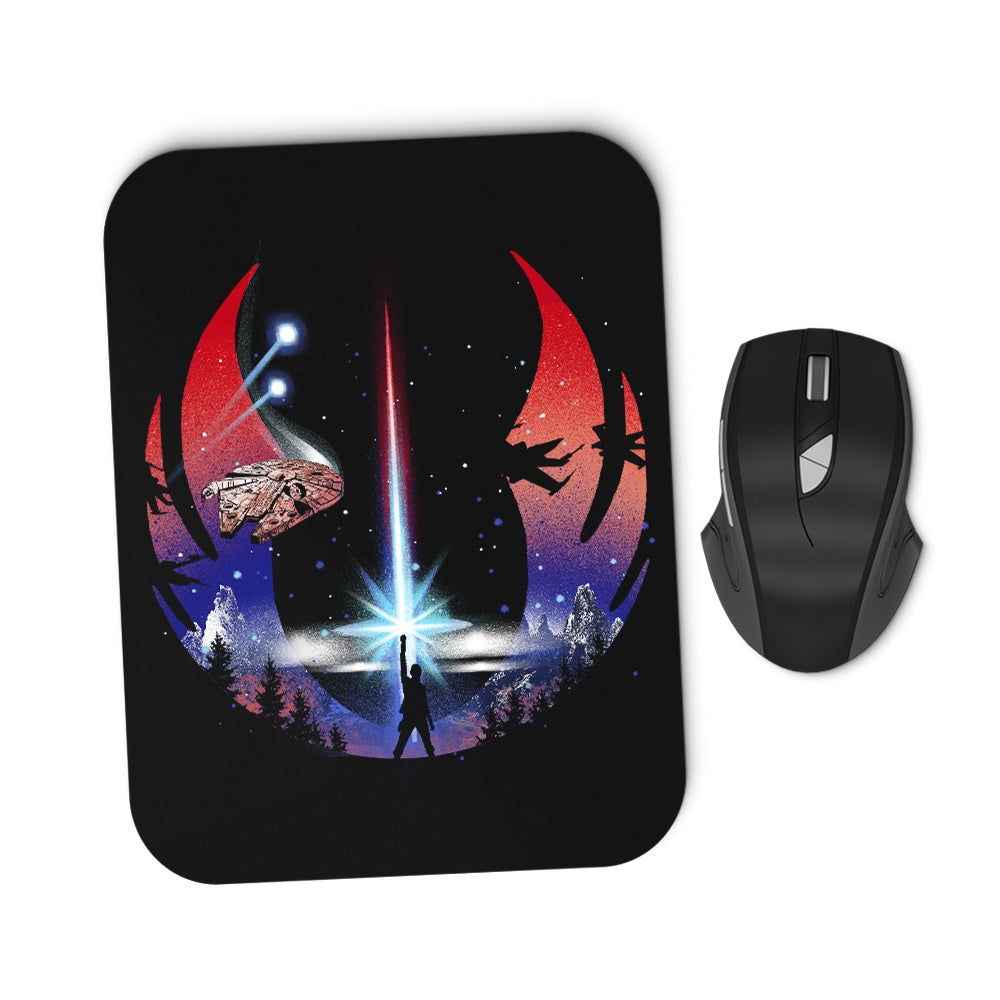 The Temple - Mousepad