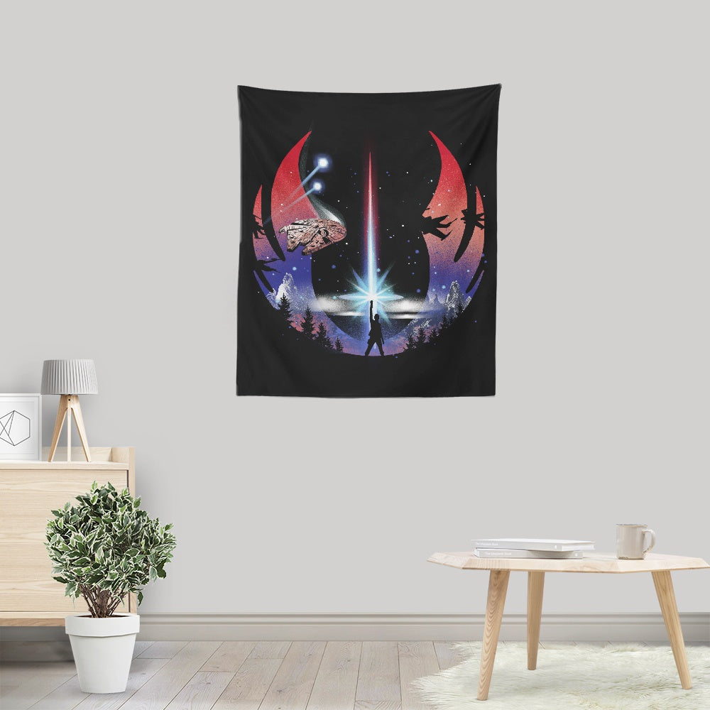 The Temple - Wall Tapestry