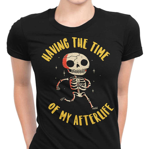 The Time of My Afterlife - Women's Apparel