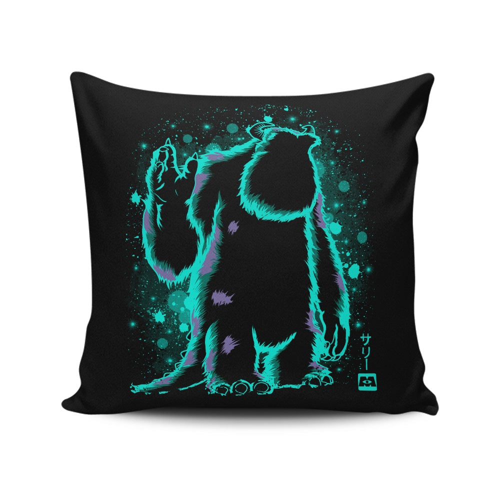 The Top Scarer - Throw Pillow