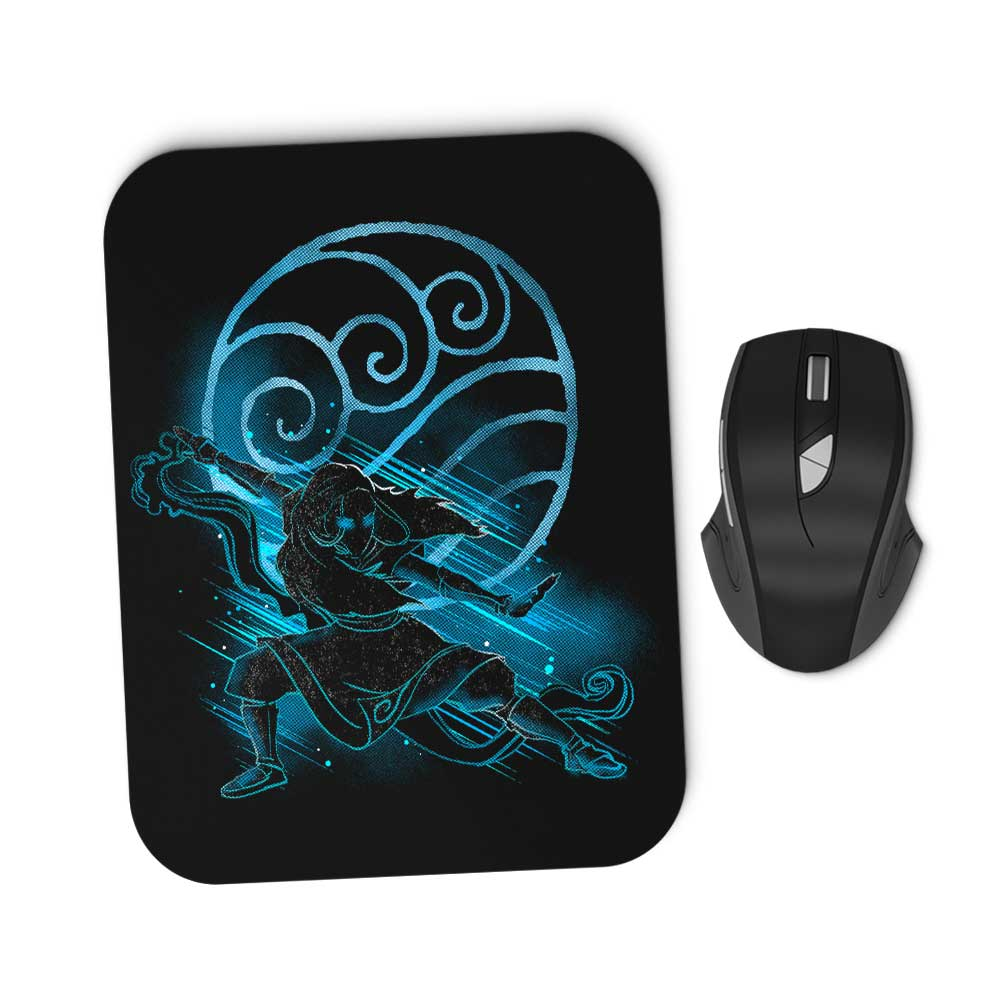 The Water Bender - Mousepad