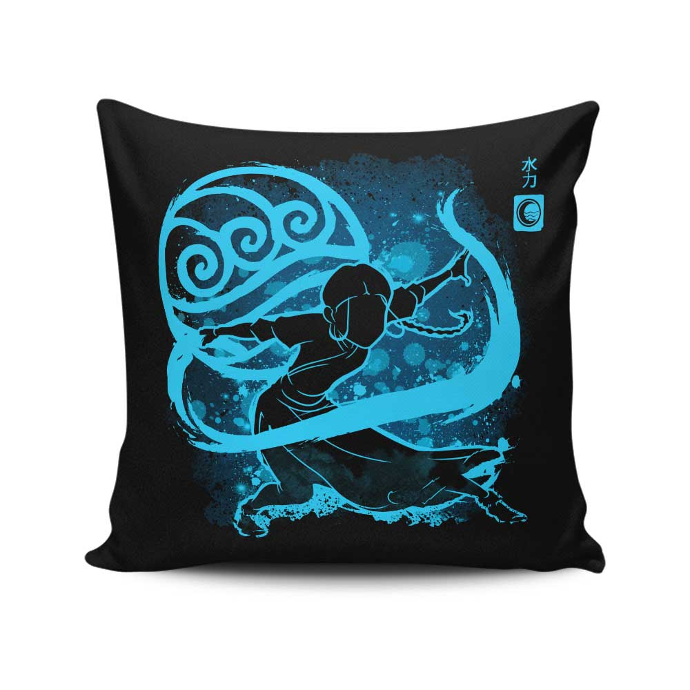 The Water Power - Throw Pillow