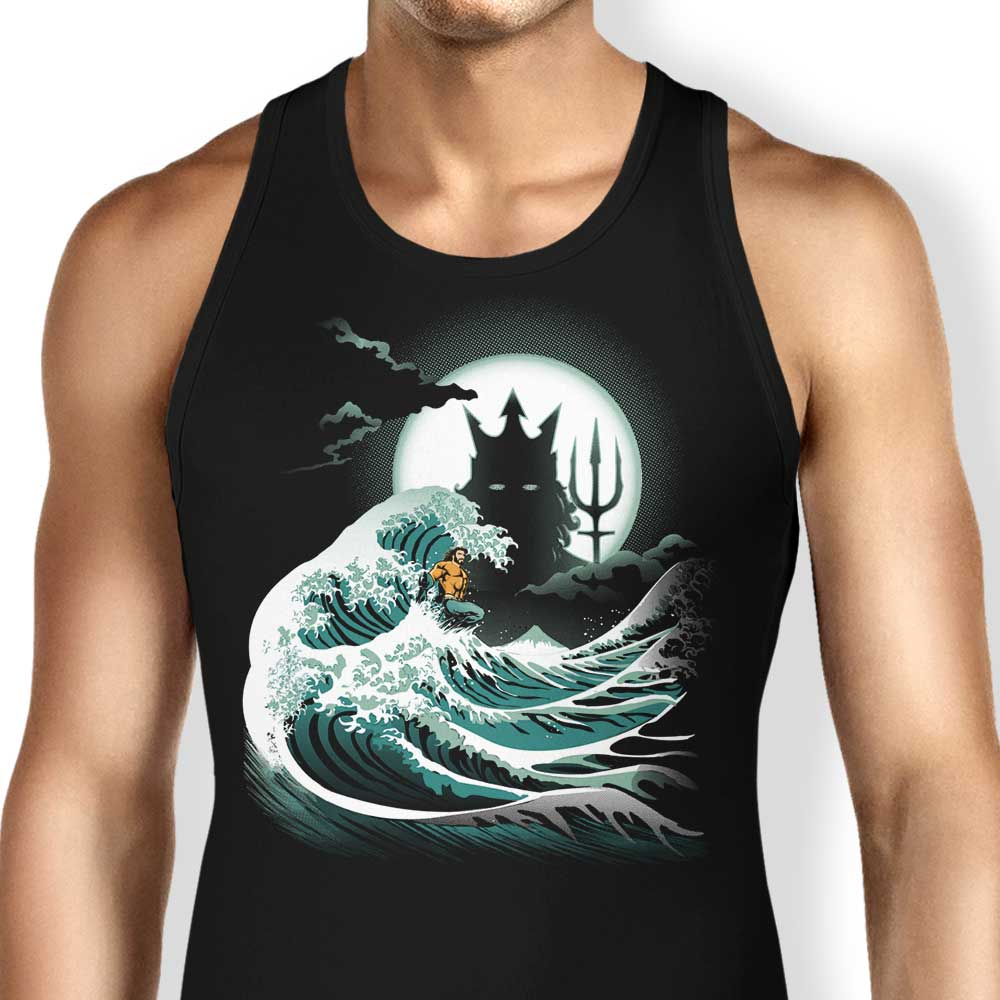 The Wave of Atlantis - Tank Top