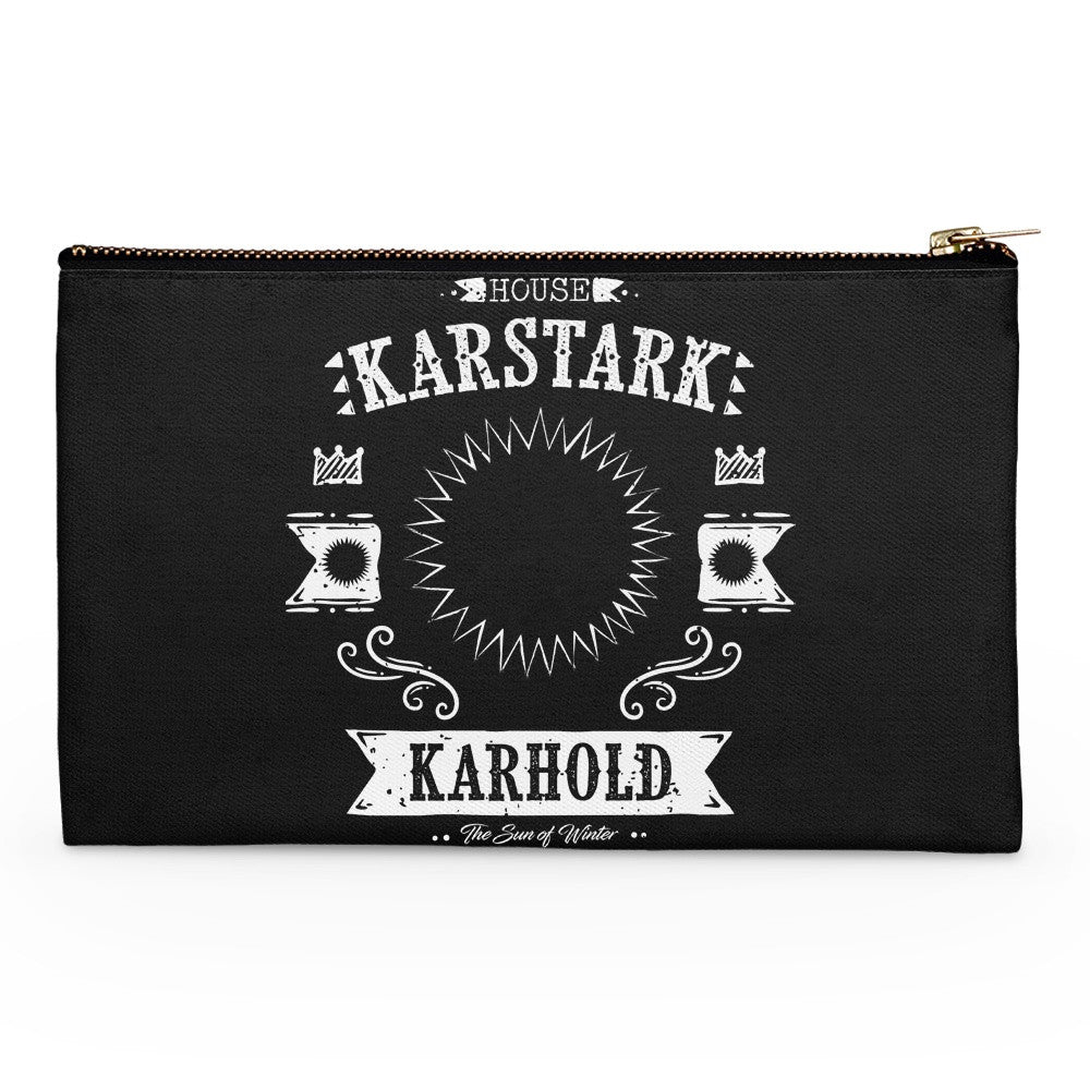 The White Starburst - Accessory Pouch
