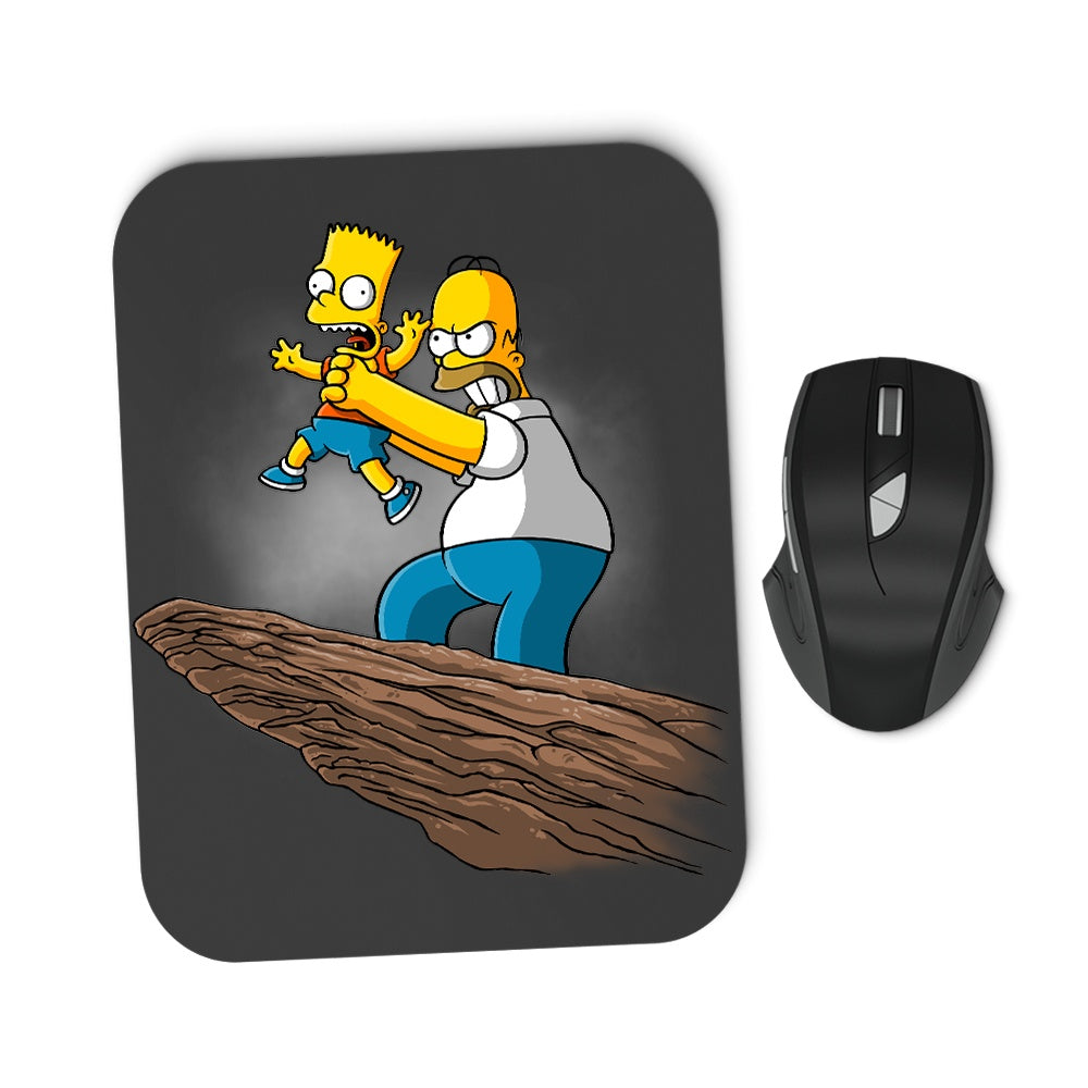 The Why You Little...King - Mousepad
