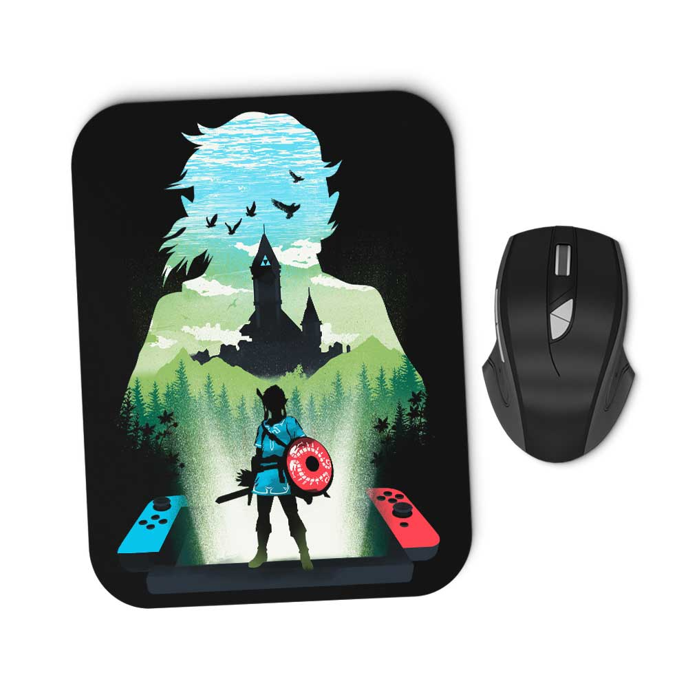 The Wild Legend - Mousepad