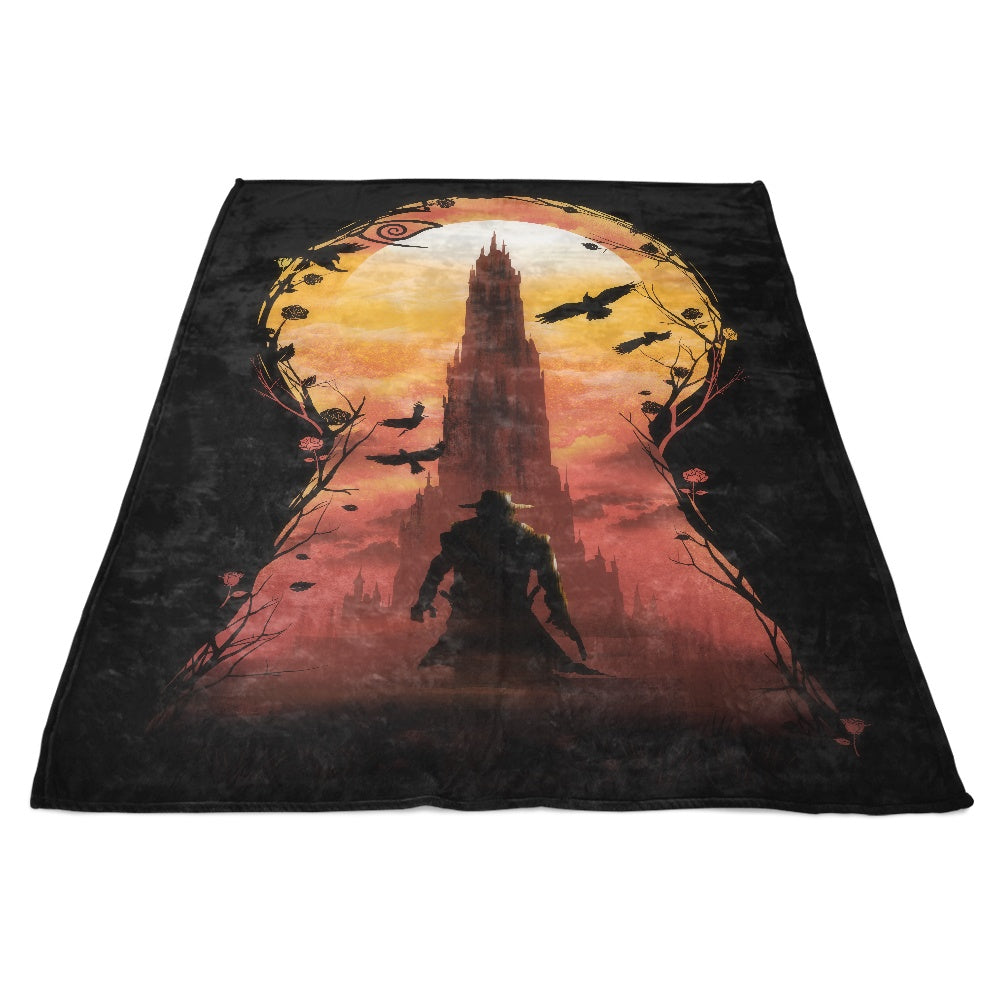 The Wind Through the Keyhole - Fleece Blanket
