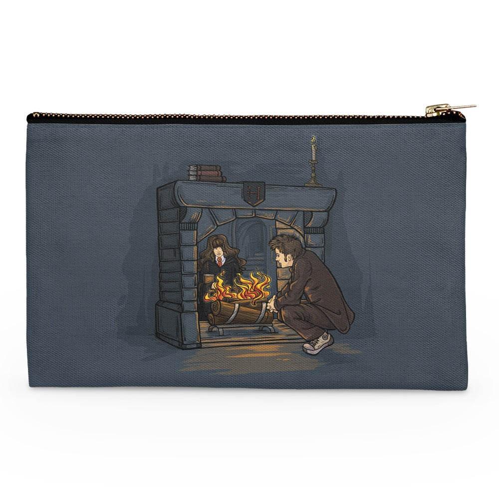 The Witch in the Fireplace - Accessory Pouch