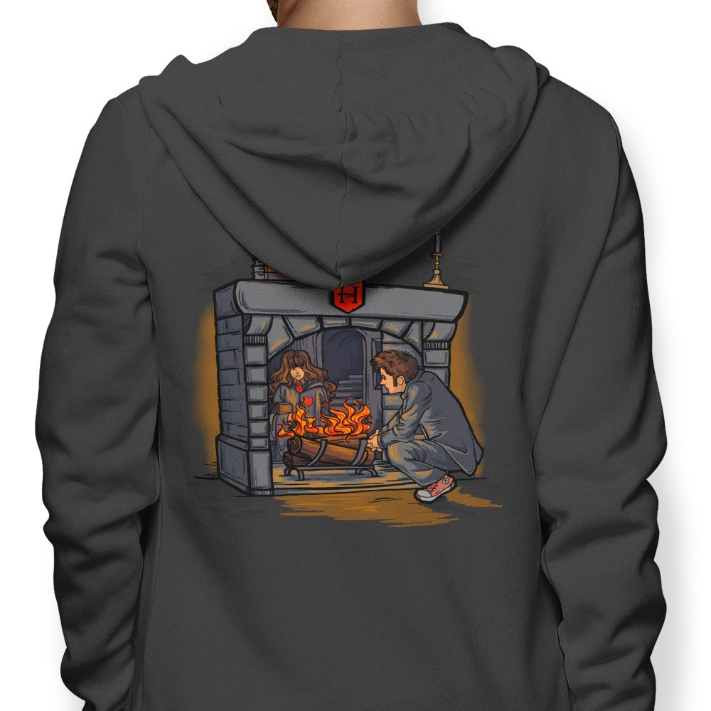 The Witch in the Fireplace - Hoodie