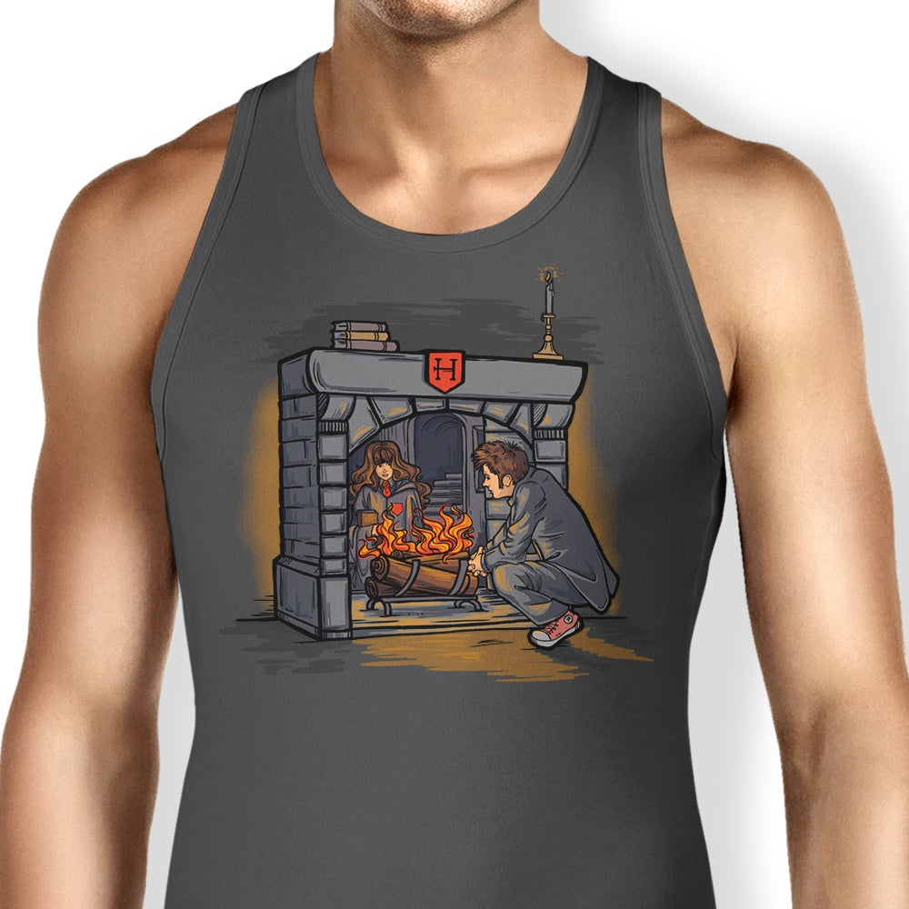 The Witch in the Fireplace - Tank Top
